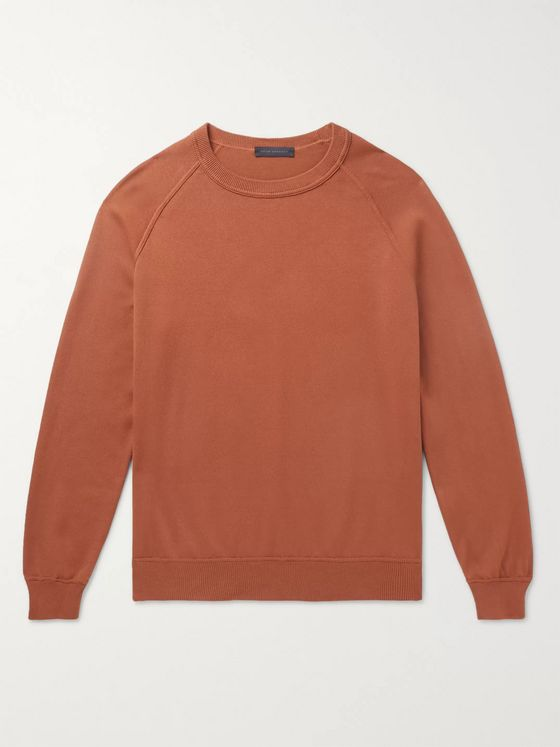 THOM SWEENEY Slim-Fit Cotton Sweatshirt