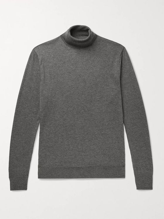 Ralph Lauren Purple Label Slim-Fit Cashmere Rollneck Sweater