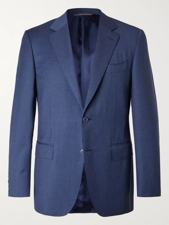 Canali Slim-Fit Wool Suit Jacket