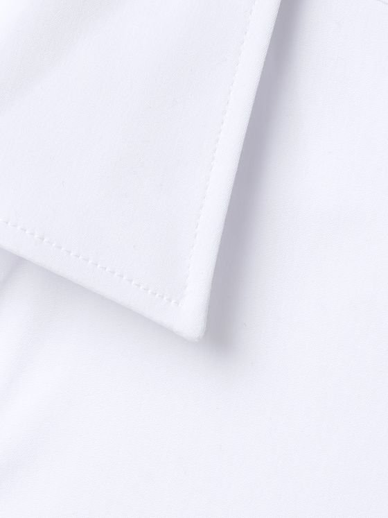 CANALI Slim-Fit Cotton-Blend Poplin Shirt