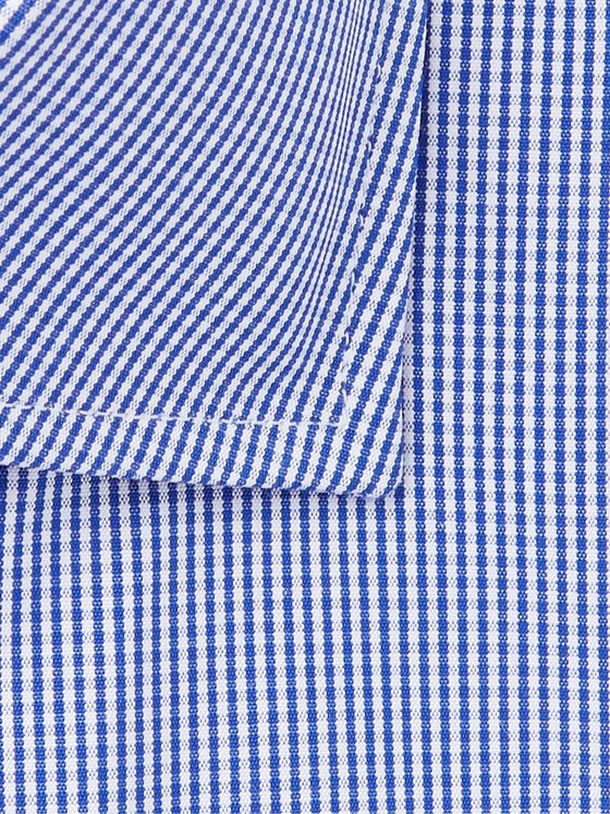 CANALI Slim-Fit Cutaway-Collar Gingham Cotton Shirt