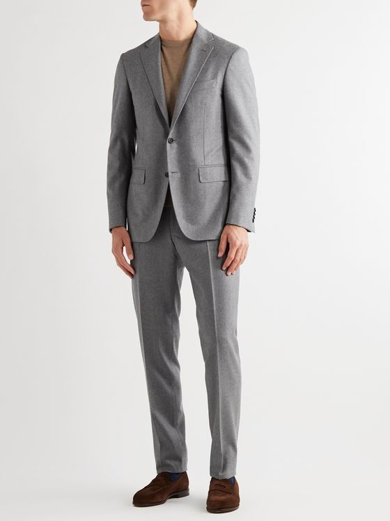 Canali Kei Slim-Fit Unstructured Wool Blazer