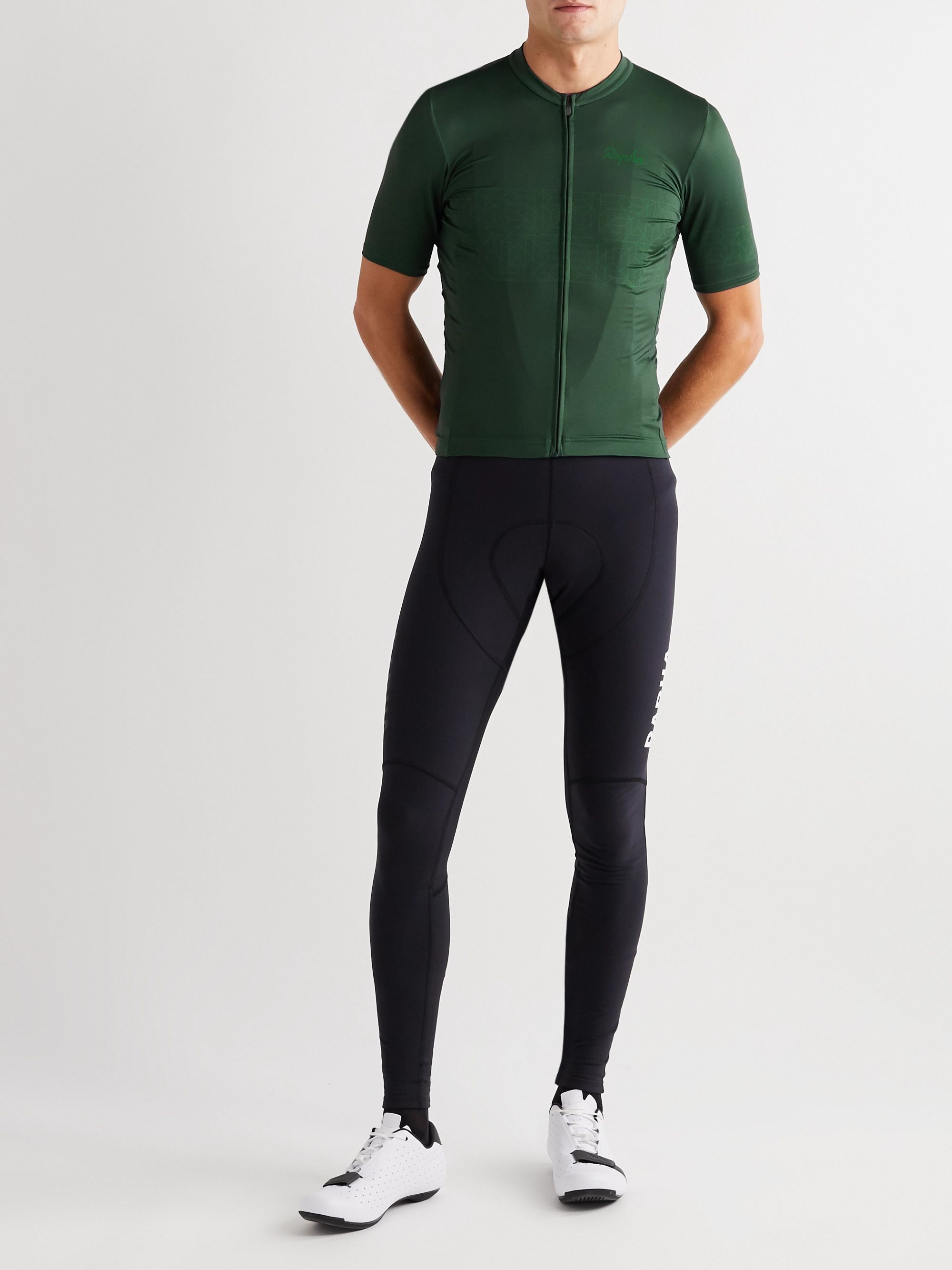 Rapha Pro Team Printed Panelled Cycling Jersey