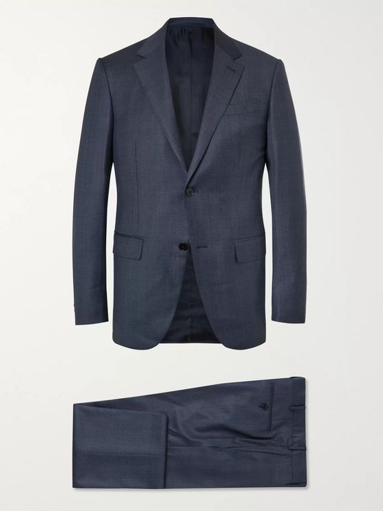 ERMENEGILDO ZEGNA Slim-Fit Wool Suit