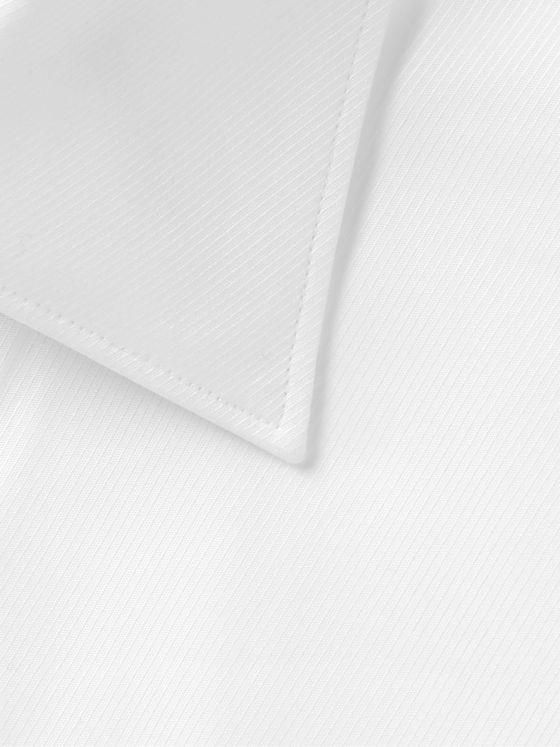 ERMENEGILDO ZEGNA Textured-Cotton Shirt