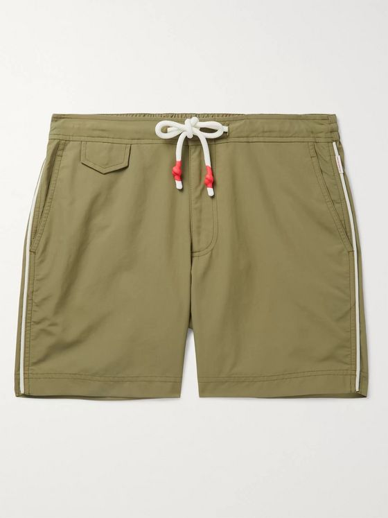 Orlebar Brown Standard Mid-Length Piped Swim Shorts