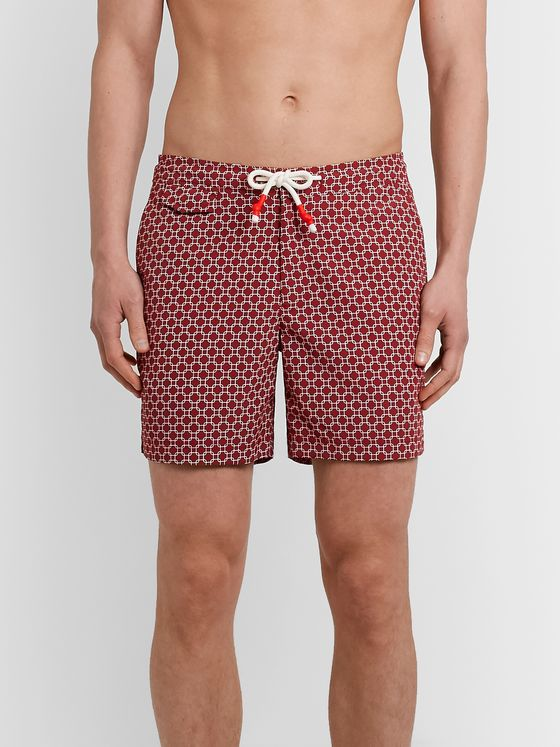 Orlebar Brown Dania Mid-Length Printed Swim Shorts