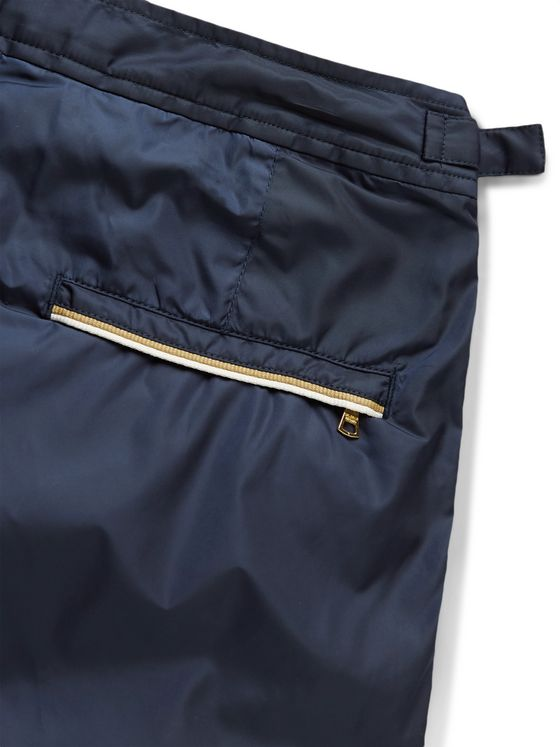 Orlebar Brown Bulldog Mid-Length Piped Swim Shorts
