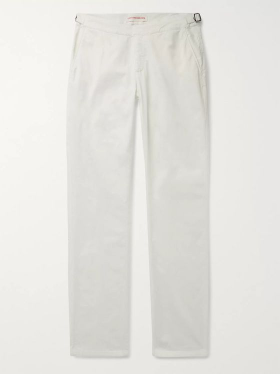 Orlebar Brown Campbell Cotton-Blend Poplin Trousers