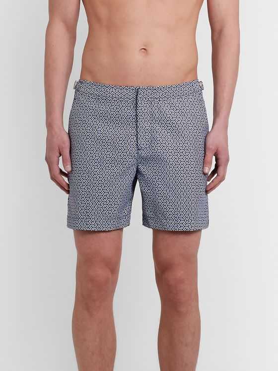 Orlebar Brown Bulldog Printed Shell Swim Shorts