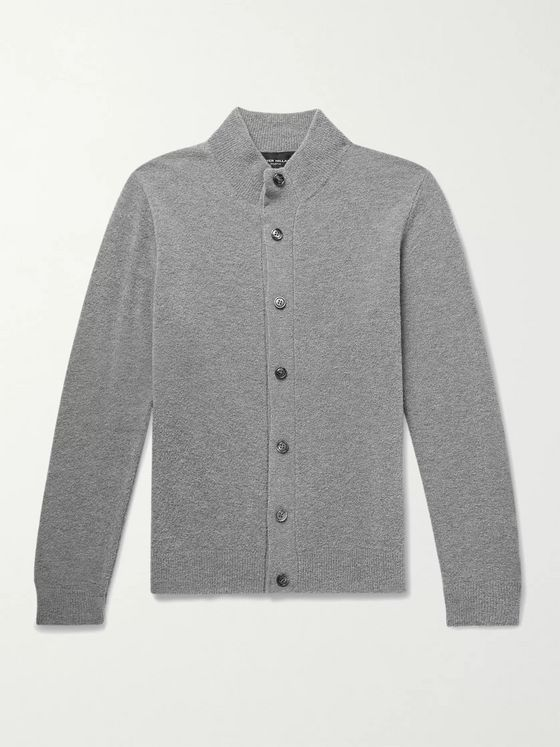 Peter Millar Buxton Slim-Fit Wool-Blend Cardigan