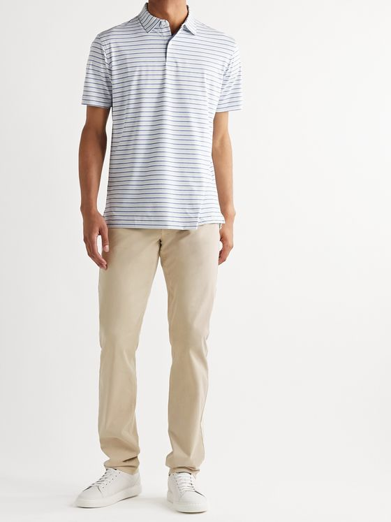 Peter Millar Wayfare Slim-Fit Tencel and Cotton-Blend Twill Trousers