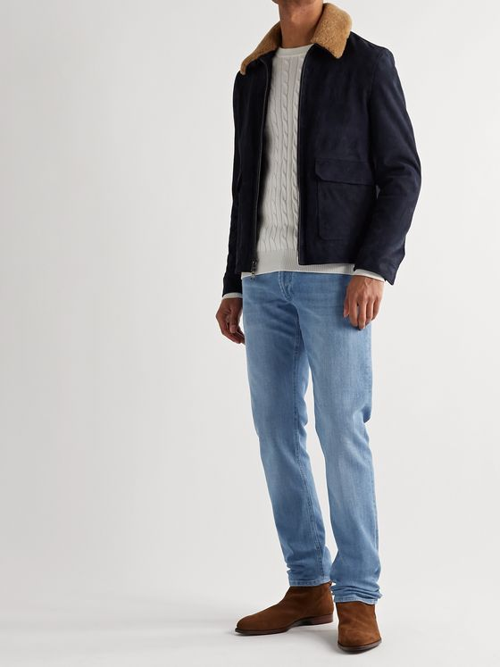 PETER MILLAR Slim-Fit Denim Jeans