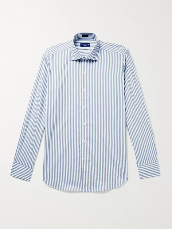 PETER MILLAR Striped Cotton Shirt