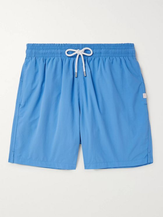 Derek Rose Aruba 1 Slim-Fit Mid-Length Swim Shorts
