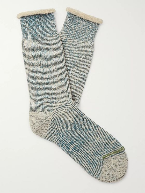 Anonymous Ism Mélange Hemp-Blend Socks