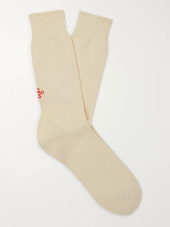 Anonymous Ism Mélange Knitted Socks