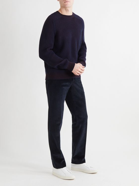 SEASE Reversible Ribbed Cashmere Sweater