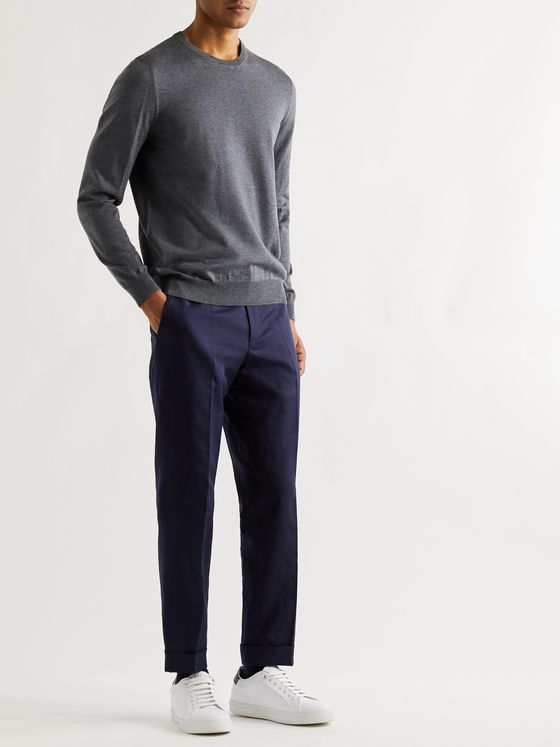 Hugo Boss Mélange Virgin Wool Sweater