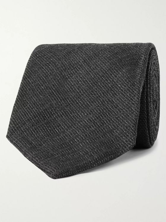 TOM FORD 7.5cm Silk and Wool-Blend Tie