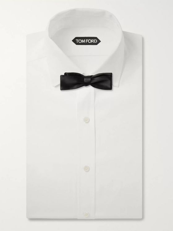 TOM FORD Self-Tie Silk-Satin Bow Tie
