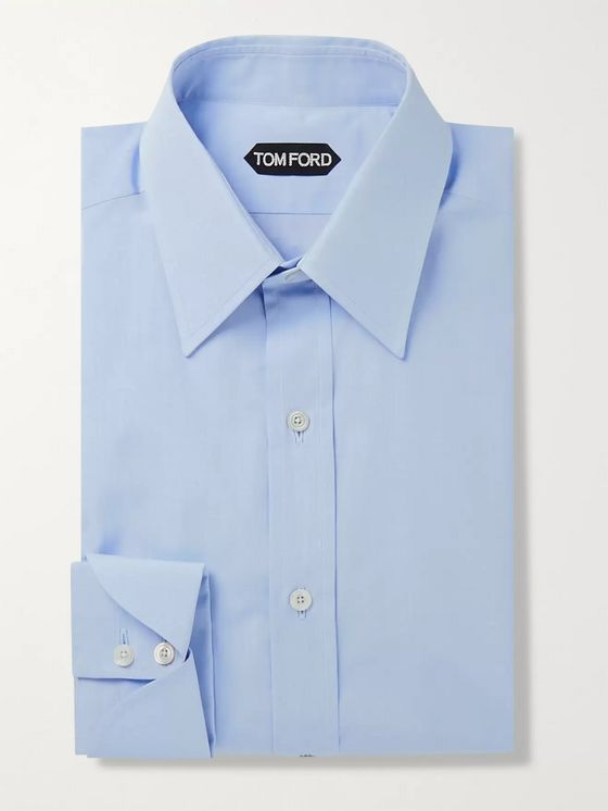 TOM FORD Slim-Fit Sea Island Cotton Shirt