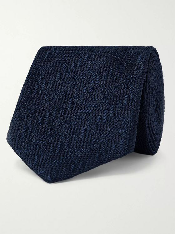 TOM FORD 7.5cm Woven Silk Tie