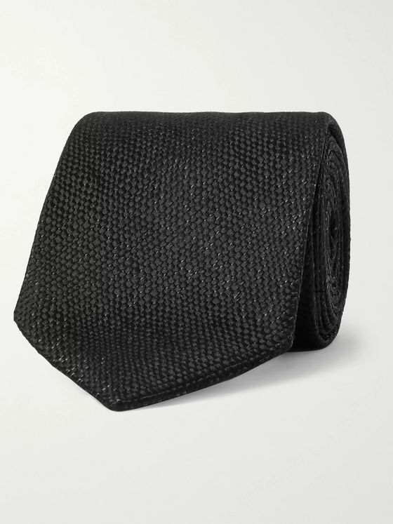 TOM FORD 7.5cm Mélange Silk Tie