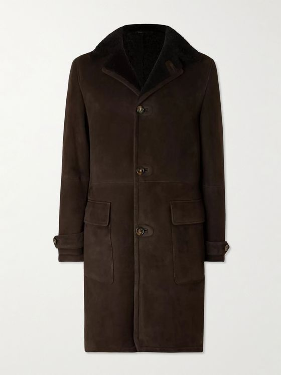 LORO PIANA Shearling Coat