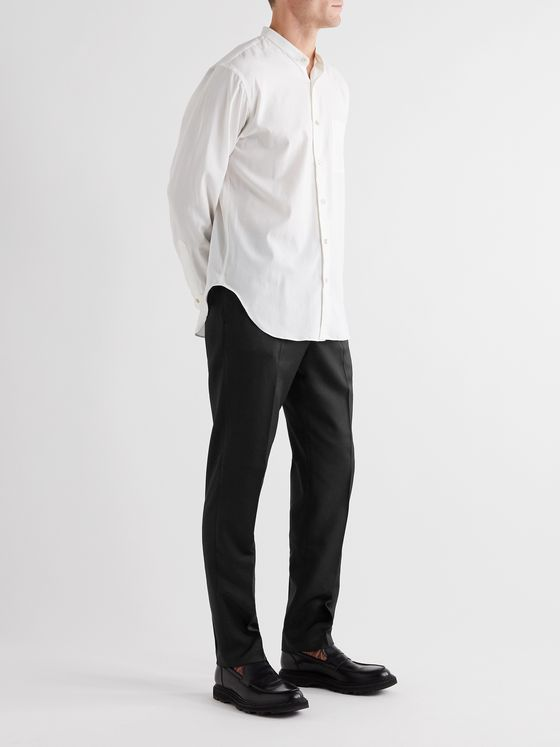 Camoshita Tapered Twill Trousers