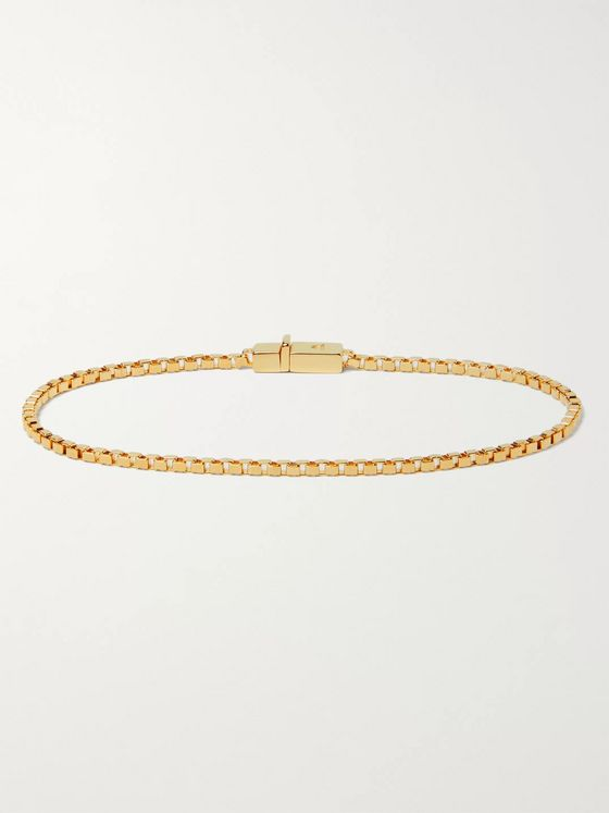 Tom Wood Gold-Plated Sterling Silver Chain Bracelet