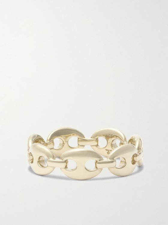 Tom Wood Bean Gold Ring