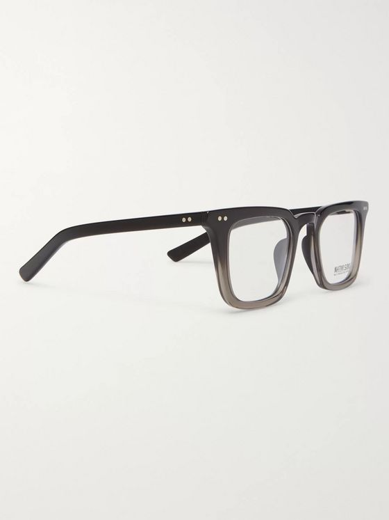 Native Sons Yazzi Square-Frame Acetate Optical Glasses