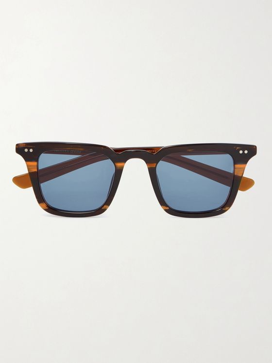 Native Sons Yazzi Square-Frame Acetate Sunglasses