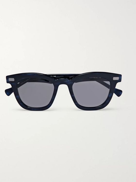 Native Sons Square-Frame Acetate Sunglasses