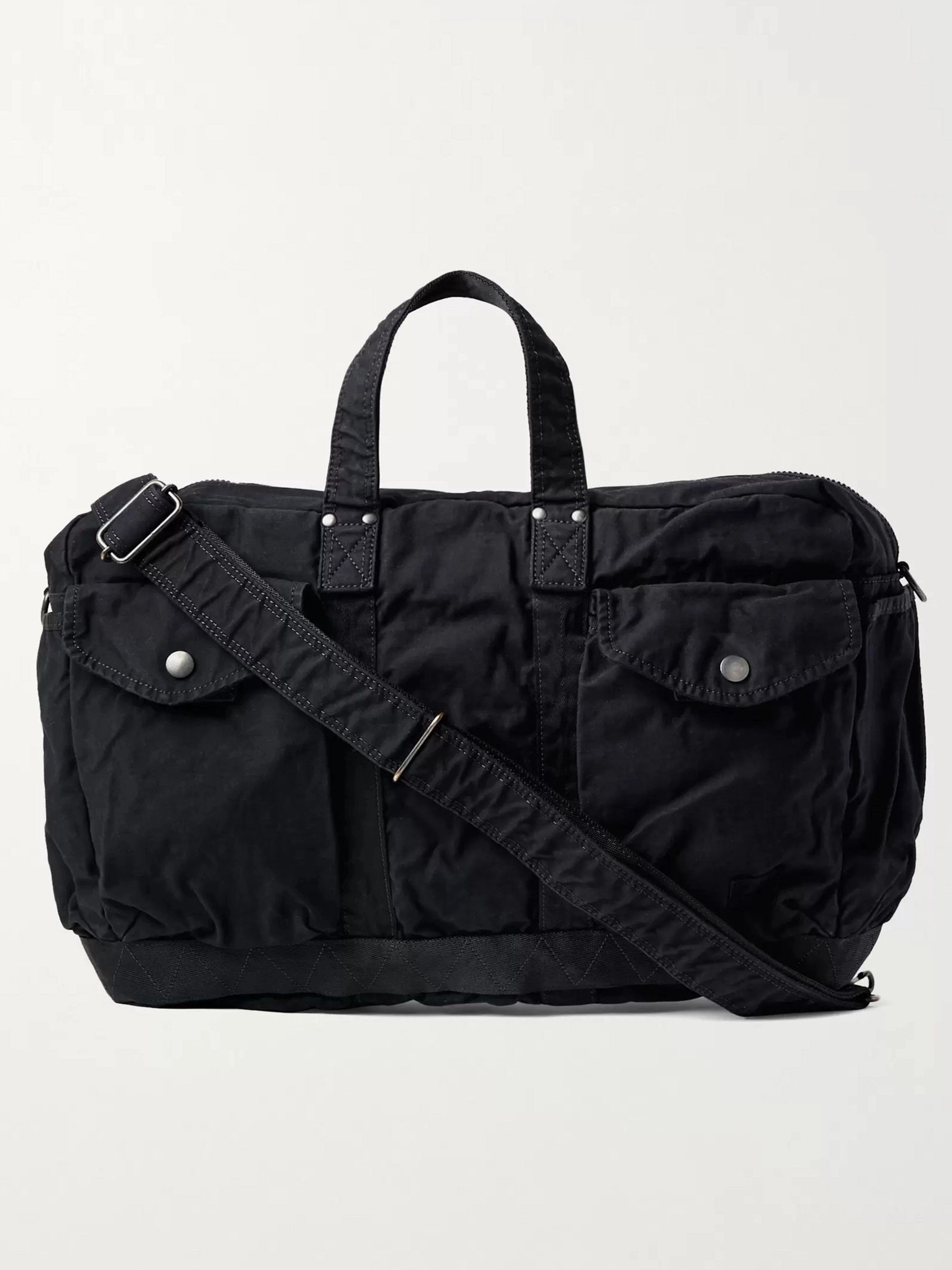 PORTER-YOSHIDA & CO 2Way Small Canvas Duffle Bag