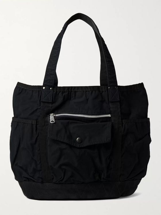 PORTER-YOSHIDA & CO Garment-Dyed Canvas Tote Bag