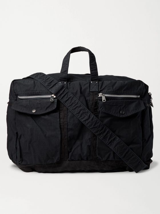 PORTER-YOSHIDA & CO 2Way Large Canvas Duffle Bag