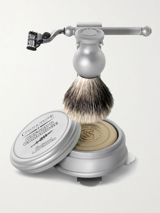 Czech & Speake Oxford & Cambridge Shaving Set & Stand