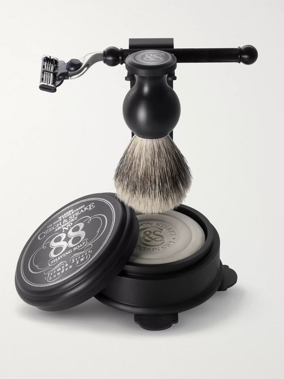 Czech & Speake No 88 Shaving Set & Stand