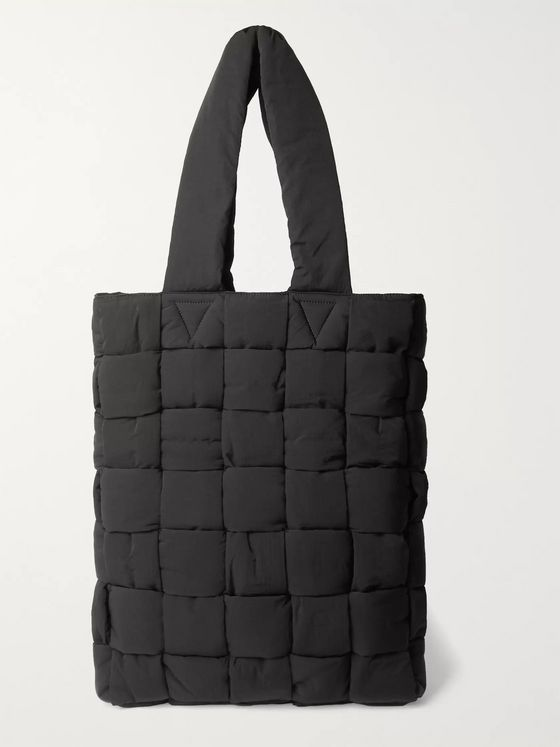 BOTTEGA VENETA Padded Quilted Nylon Tote Bag