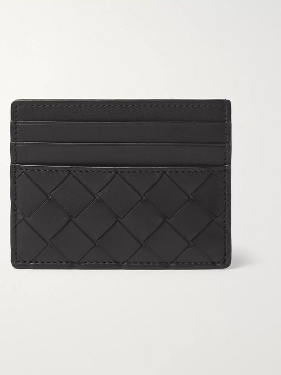 BOTTEGA VENETA Intrecciato Leather Cardholder