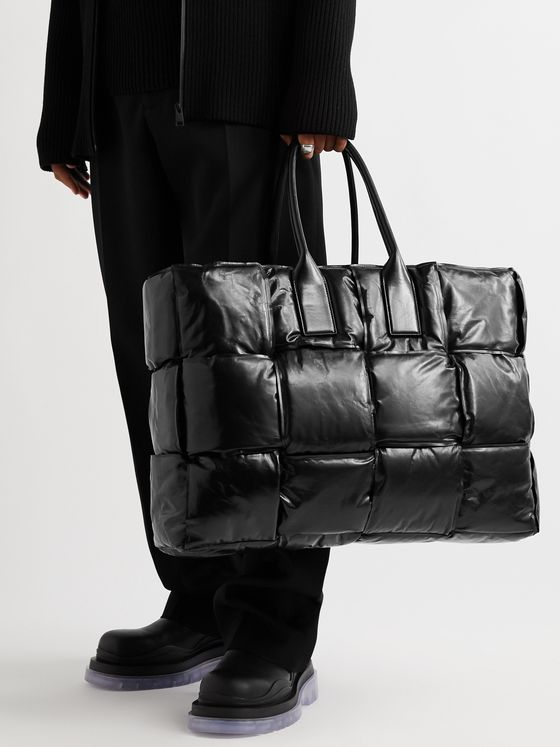 BOTTEGA VENETA Intrecciato Padded Shell Tote Bag