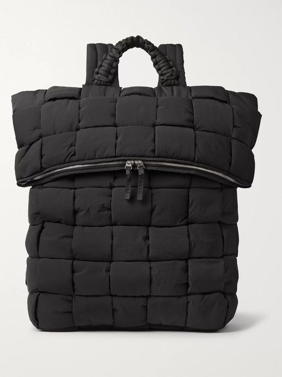 Bottega Veneta Intrecciato Padded Quilted Nylon Backpack