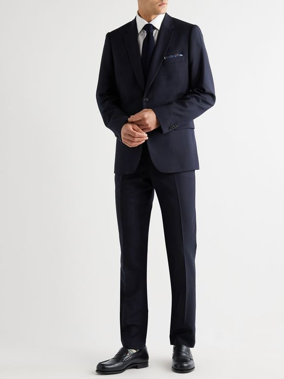 PAUL SMITH Soho Slim-Fit Wool-Twill Suit Jacket