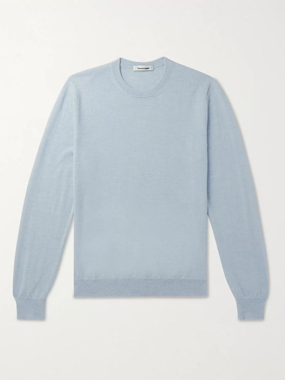 Saman Amel Merino Wool Sweater