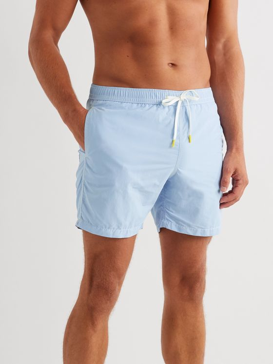 Hartford Slim-Fit Mid-Length Swim Shorts