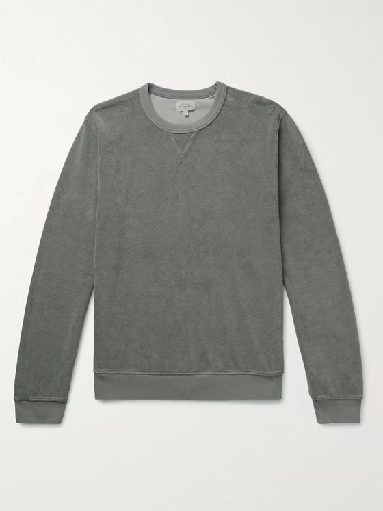 Hartford Cotton-Blend Terry Sweatshirt