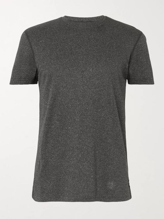 Reigning Champ Mélange Polartec Power Wool T-Shirt