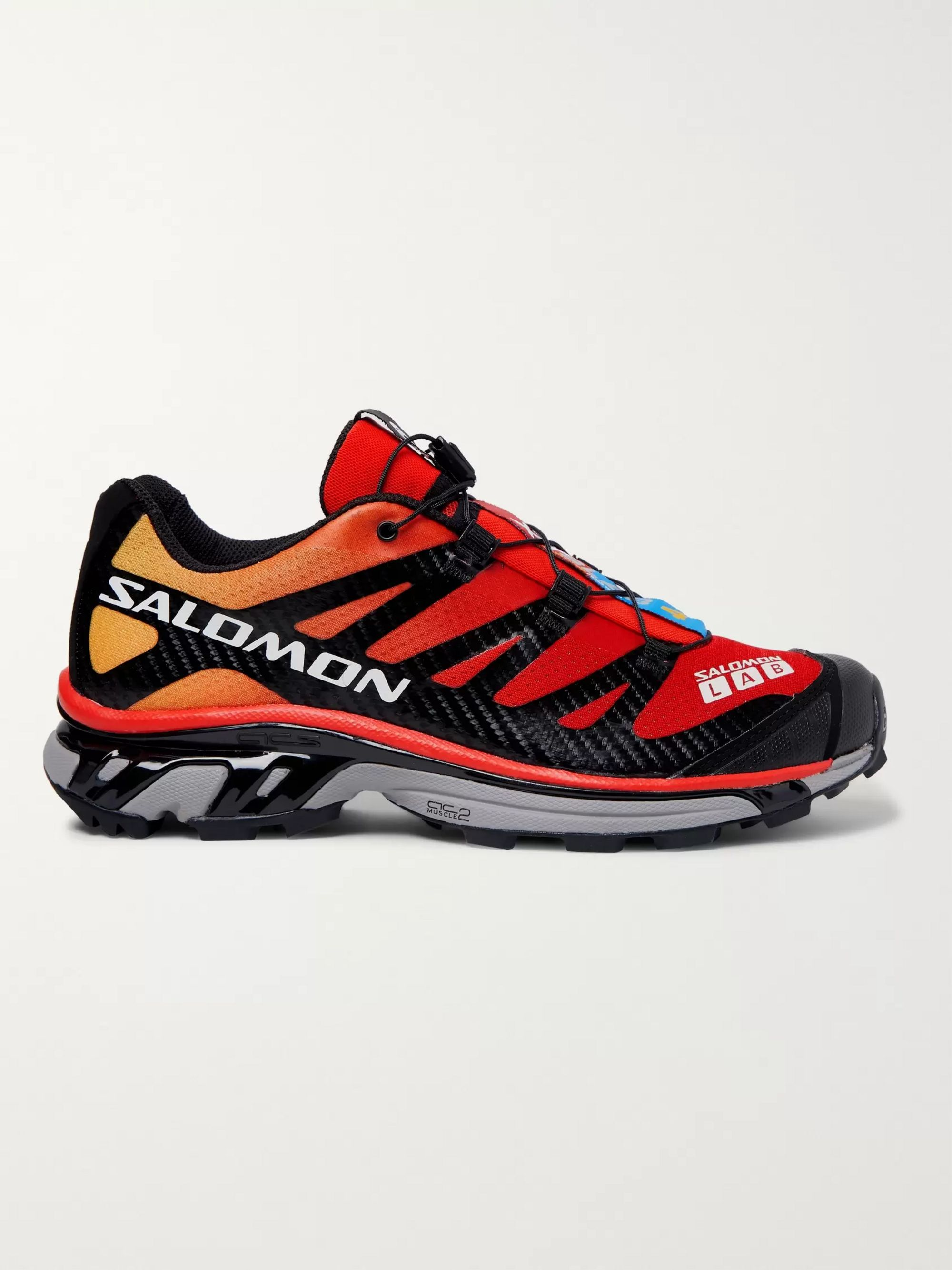 S/Lab Xt 4 Adv Mesh And Rubber Running Sneakers by Salomon